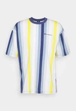 Champion - T-Shirt print - blue/yellow