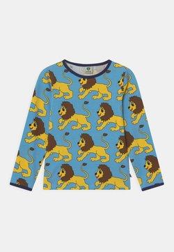 Småfolk - LION UNISEX - Camiseta de manga larga - blue grotto