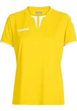 Hummel - CORE SS - T-Shirt print - sports yellow pr