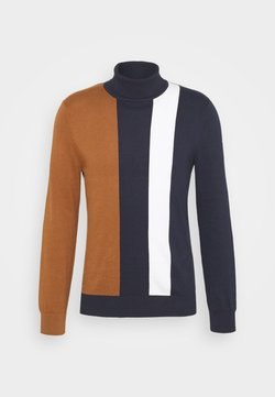 Burton Menswear London - Strickpullover - tobacco