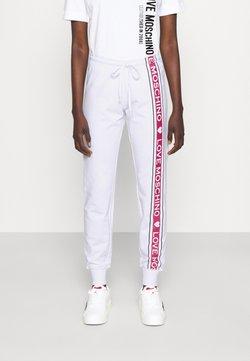 Love Moschino - Jogginghose - optical white