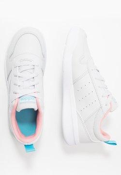 adidas Performance - VECTOR K UNISEX - Trainings-/Fitnessschuh - dash grey/footwear white/glow pink