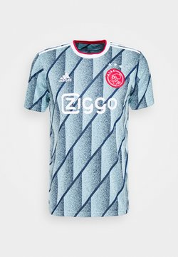 adidas Performance - AJAX AMSTERDAM AEROREADY FOOTBALL - Klubtrøjer - ice blue