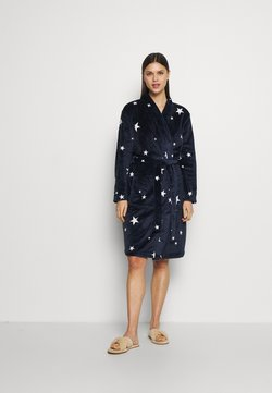 Marks & Spencer London - KIMONO STAR GOWN - Badekåber - navy mix