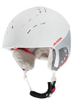 Alpina - SPICE - Helm - white/flamingo matt
