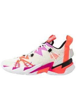 Jordan - WHY NOT SE - Basketbalschoenen - sail/black/spruce aura/flash crimson/hyper violet