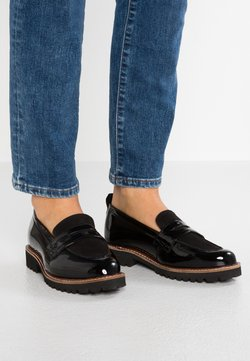 Simply Be - WIDE FIT KEISHA CHUNKY LOAFER - Instappers - black