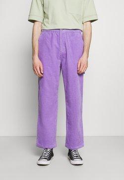 Vintage Supply - CARPENTER PANT - Pantaloni - purple