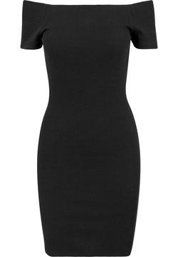 Urban Classics - Jerseykleid - black