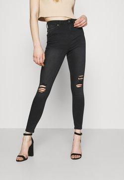 Miss Selfridge - LIZZIE - Jeans Skinny Fit - washed black