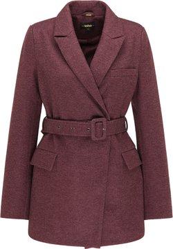 usha - Manteau classique - bordeaux