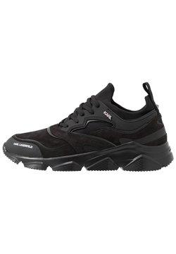 KARL LAGERFELD - VERGE LACE RUNNER - Sneaker low - black