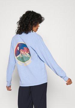 BDG Urban Outfitters - SKATE GRAPHIC TEE - Langarmshirt - baby blue