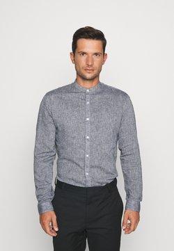 Lindbergh - MANDARIN COLLAR SHIRT  - Camisa - dark blue