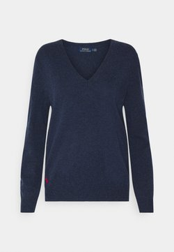Polo Ralph Lauren - CLASSIC LONG SLEEVE - Pullover - boathouse navy