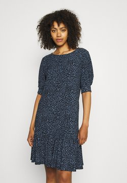 JDY - JDYGITTE SVAN DRESS - Freizeitkleid - black/blue