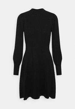 ONLY - ONLYARA DRESS - Vestido de punto - black