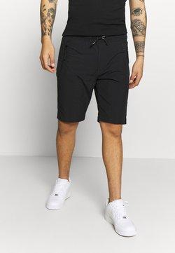 Calvin Klein - REGULAR FIT CRINKLE - Jogginghose - black