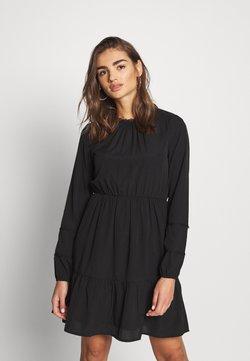 Vero Moda - VMINEZ SHORT DRESS - Robe d'été - black