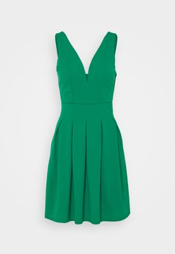 WAL G TALL - PLEATED SKATER DRESS - Cocktailkleid/festliches Kleid - leaf green