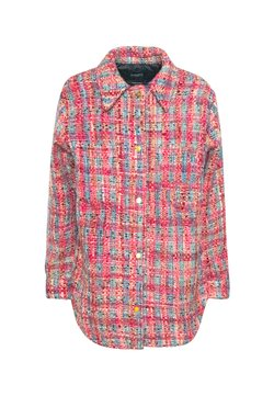 Scotch & Soda - JACKET IN SPECIAL FABRIC - Manteau court - pink