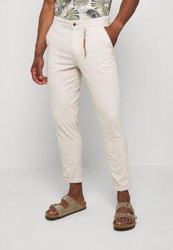 Jack & Jones - JJIACE JJLINEN  - Pantalones - silver birch
