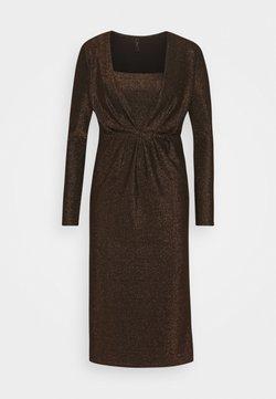 YAS - YASYEN V NECK MIDI DRESS - Cocktailkleid/festliches Kleid - black
