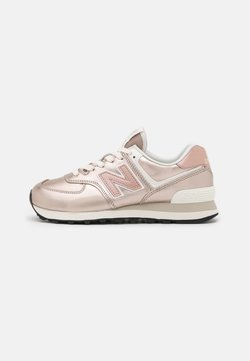 New Balance - WL574 - Matalavartiset tennarit - rose