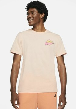 Nike Sportswear - TEE BEACH ROLLERBLADER - T-shirt z nadrukiem - arctic orange