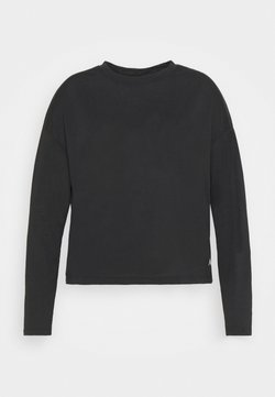 Reebok - LONG SLEEVE - Langarmshirt - black