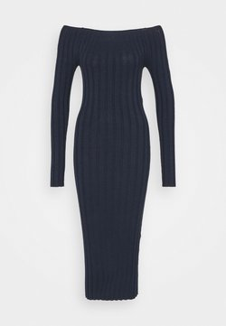 YAS - YASVERONICA MIDI DRESS - Shift dress - navy blazer