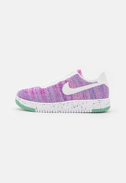 Nike Sportswear - AIR FORCE 1 CRATER - Sneakers - fuchsia glow/white/pink blast/green glow