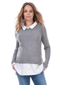 Seraphine - Stickad tröja - grey/white