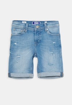 Jack & Jones Junior - JJIRICK JJORIGINAL - Jeansshort - blue denim