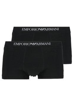 Emporio Armani - TRUNK 2 PACK - Shorty - black