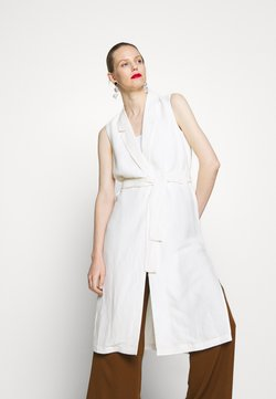 Esprit Collection - LONG VEST - Smanicato - off white