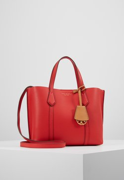Tory Burch - PERRY SMALL TRIPLE COMPARTMENT TOTE - Torebka - brilliant red