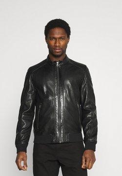 Gipsy - GRAHAN  - Leather jacket - black
