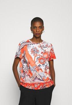 Desigual - SELMARIS - T-shirt z nadrukiem - carmin