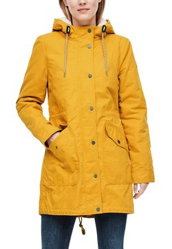 Q/S designed by - Parka - golden yellow