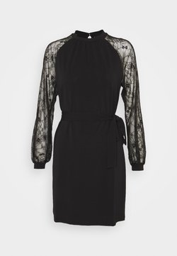 Vero Moda Tall - VMALBERTA SHORT DRESS  - Freizeitkleid - black