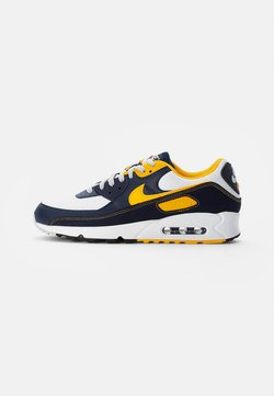 Nike Sportswear - AIR MAX - Sneakers laag - white/univ gold-midnight navy-obsidian-pure platinum-wolf grey