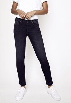 Five Fellas - GRACIA - Jeans Slim Fit - black