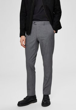 Selected Homme - SLIM FIT - Pantalon - grey melange