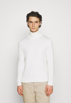 Jack & Jones PREMIUM - JPRFAST ROLL NECK  - Strickpullover - egret