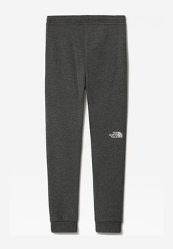 The North Face - Y FLEECE PANT - Jogginghose - tnfmediumgreyhtr/tnfwhite