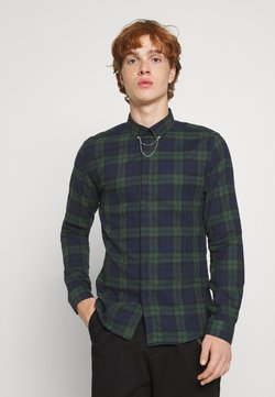 Twisted Tailor - SHIRT - Hemd - green navy