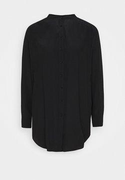 Opus - FEINKE - Blusenkleid - black