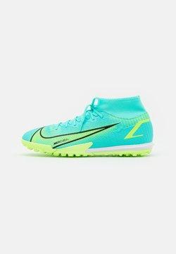Nike Performance - MERCURIAL 8 ACADEMY TF - Korki Turfy - dynamic turquoise/lime glow