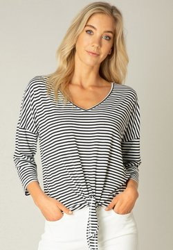 ES&SY - Langarmshirt - black/white